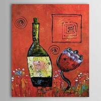 Hand Painted Oil Painting Abstract Still Life 1303-AB0375