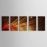 Hand Painted Oil Painting Abstract Set of 5 1307-AB0452