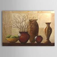 Hand-painted Still Life Oil Painting with Stretched Frame 24 x 36