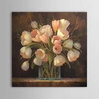 Hand-painted Still Life Oil Painting with Stretched Frame 24 x 24