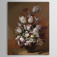 Hand Painted Oil Painting Still Life Floral 1303-SL0076