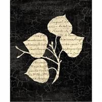Printed Art Botanical Decoupage II by Yuna
