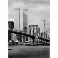 Printed Art Landscape WTC by Chris Bliss