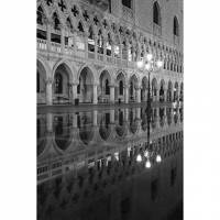 Printed Art Landscape Venetia Reflection by Moises Levy
