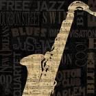 Printed Art Still Life Jazz Improv II by NBL Studio