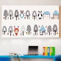 Tree Bear Panda Wall Sticker