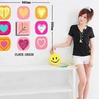 Decorative Clock Wall Sticker (0752 -DL002)