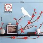 Decorative Clock Wall Sticker (0752 -HZ-15A026)
