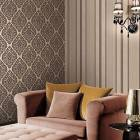 Classic Strip Office PVC Wall Paper