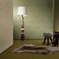 Retro Damask PVC Wall Paper