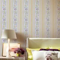 Country Style Floral PVC Wall Paper 1301-0033