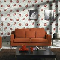 Country Style Floral Non-woven Wall Paper 1301-0018